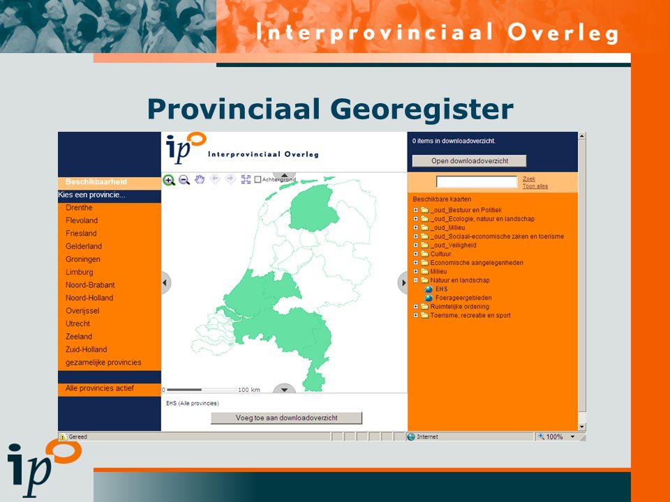 Provinciaal Georegister