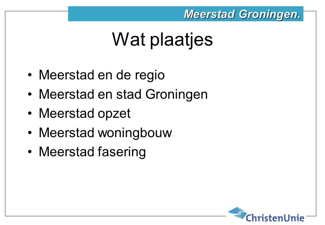 Meerstad en stad Groningen