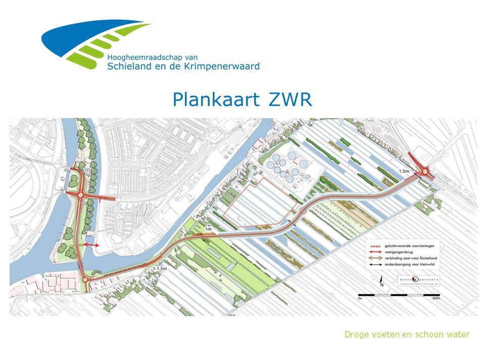 Droge voeten en schoon water Plankaart ZWR