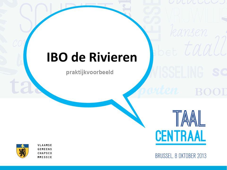 IBO de Rivieren praktijkvoorbeeld