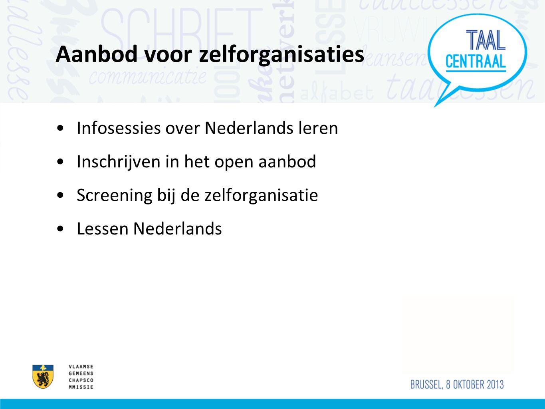 Samenwerking met UTV Infosessie Werving Screening Lessen Nederlands