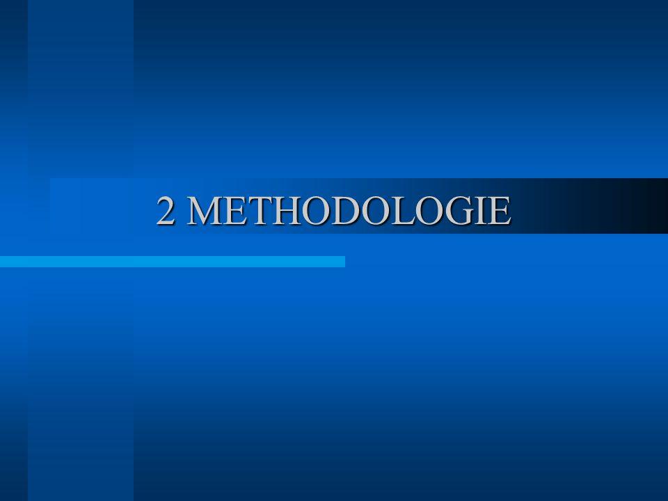 2 METHODOLOGIE