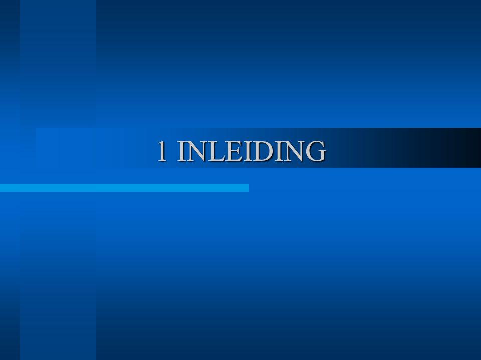 1 INLEIDING