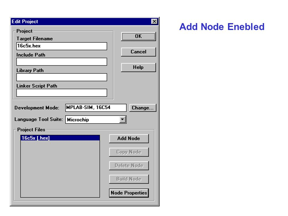 Add Node Enebled