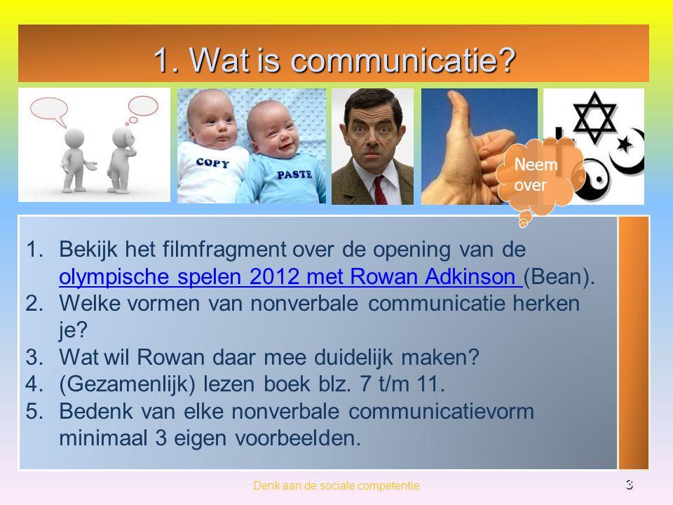 Levensbeschouwelijke communicatie en belang en belang Denk aan de sociale competentie 4 Levensbeschouwelijke communicatie is communicatie dat gericht is op onderwerpen van levensbeschouwelijke aard.