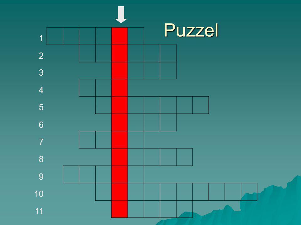 Puzzel 1 2 3 4 5 6 7 8 9 10 11