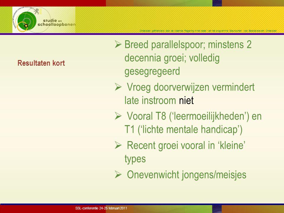 Onderzoek gefinancierd door de Vlaamse Regering in het kader van het programma 'Steunpunten voor Beleidsrelevant Onderzoek' Resultaten kort  Breed pa