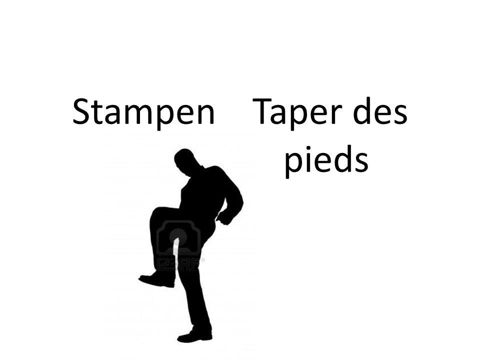 Stampen Taper des pieds