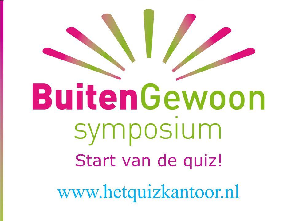 Tussenstand regio's 1. West 30 2. Noord 29 3. Zuid 29 4. Oost 24 www.hetquizkantoor.nl