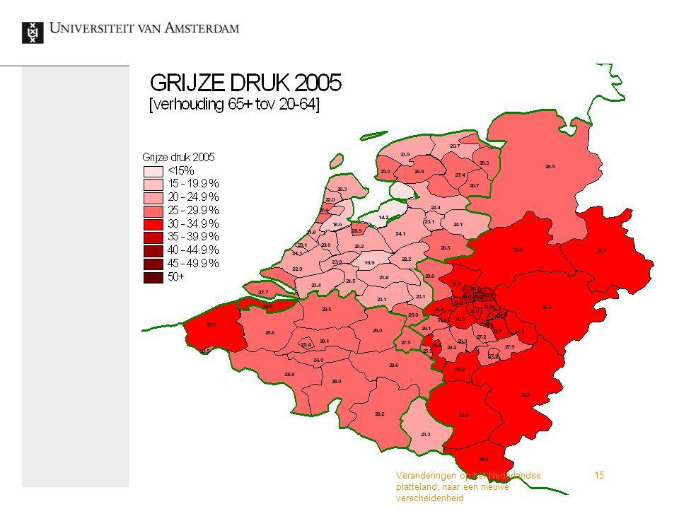 Veranderingen op het Nederlandse platteland; naar een nieuwe verscheidenheid 15