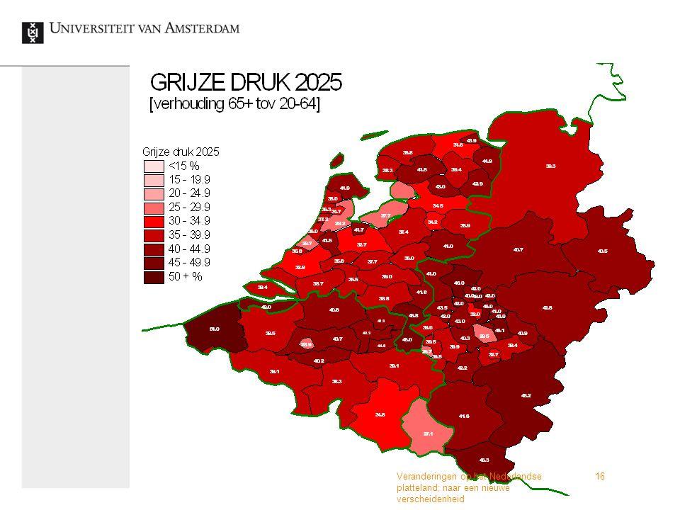 Veranderingen op het Nederlandse platteland; naar een nieuwe verscheidenheid 16