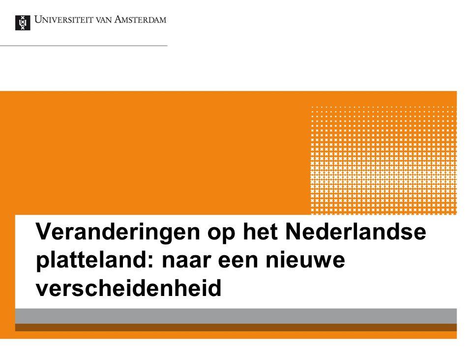 Veranderingen op het Nederlandse platteland: naar een nieuwe verscheidenheid