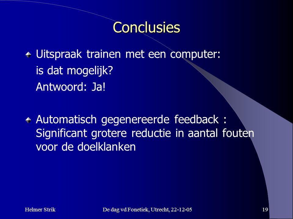 Helmer StrikDe dag vd Fonetiek, Utrecht, 22-12-0518 Metadata