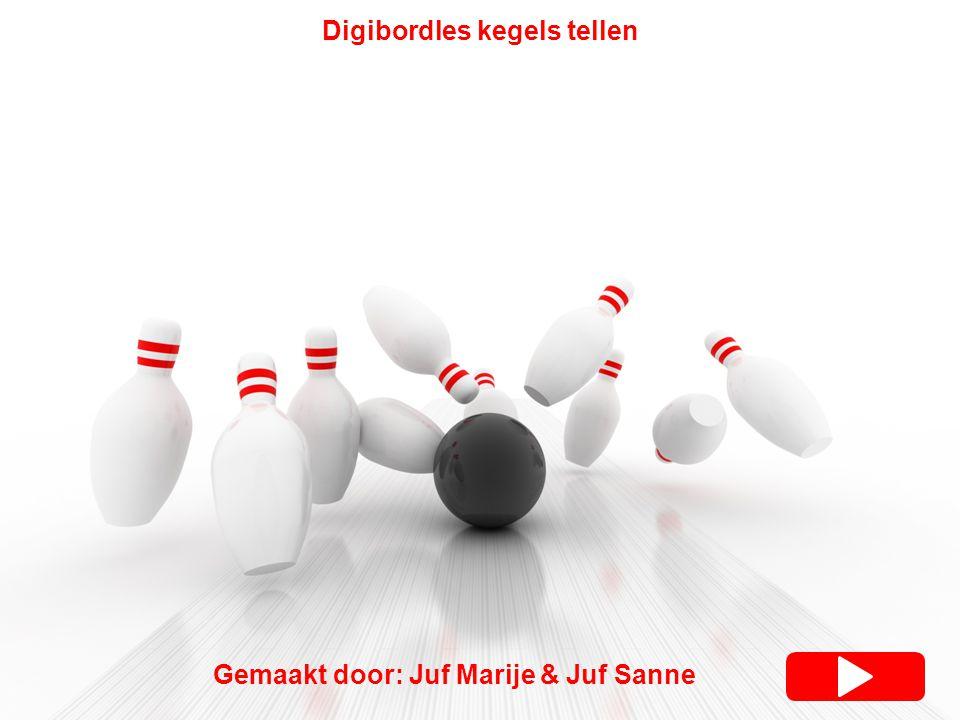 Gemaakt door: Juf Marije & Juf Sanne Digibordles kegels tellen