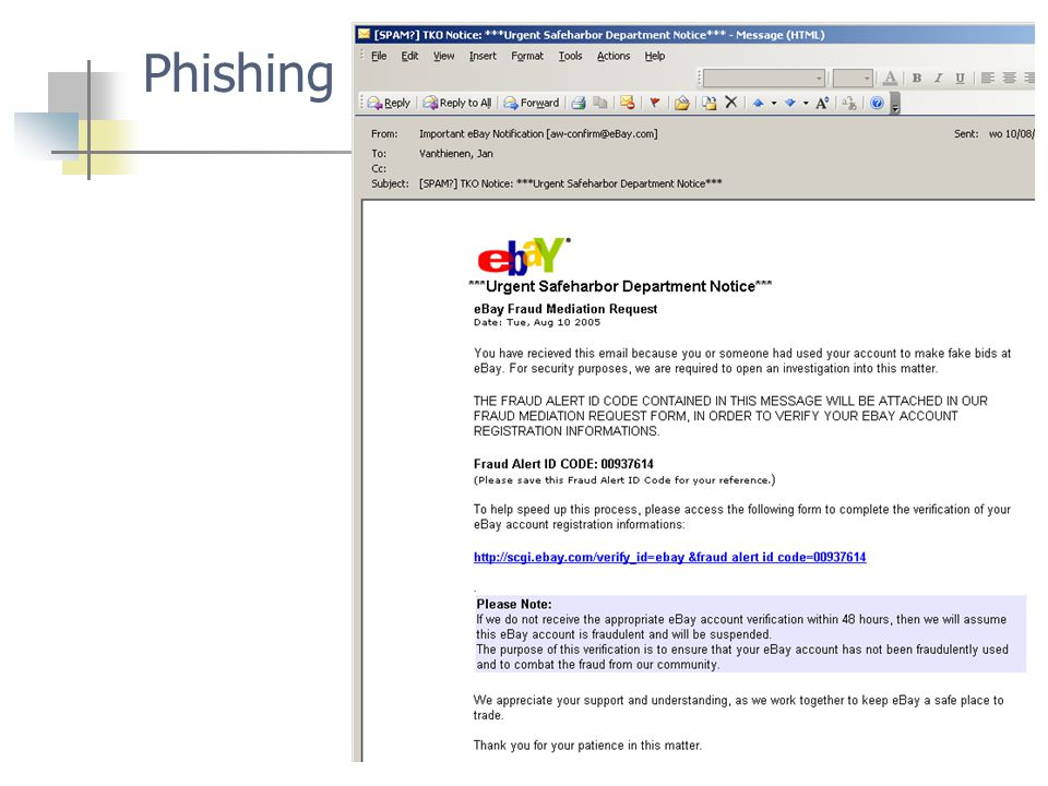 69 Phishing
