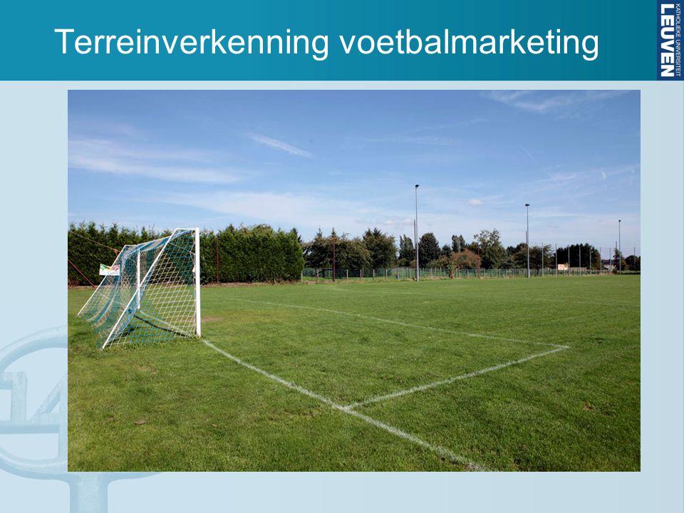 Voetbalmarketing MM, HRM & OM waardecreatie en klanttevredenheid operationele inkomsten toepassing: BVO Lage Landen