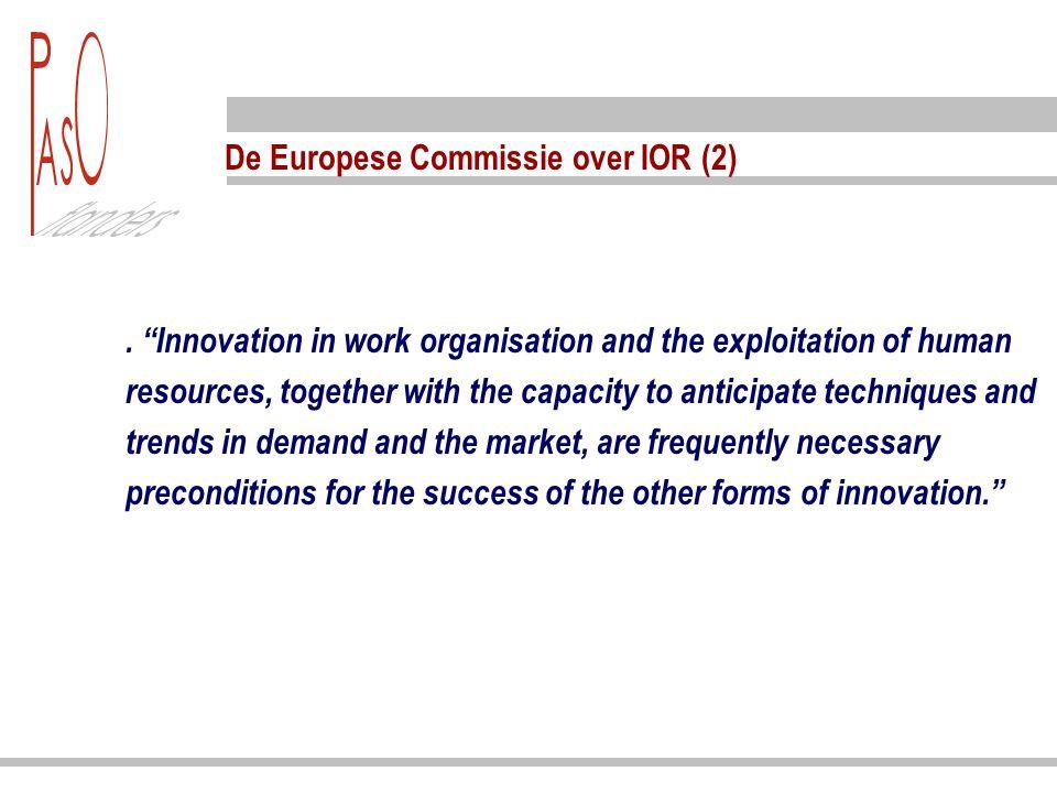 De Europese Commissie over IOR (3). .