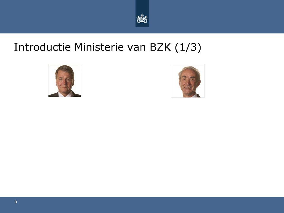 Introductie Ministerie van BZK (1/3) 3
