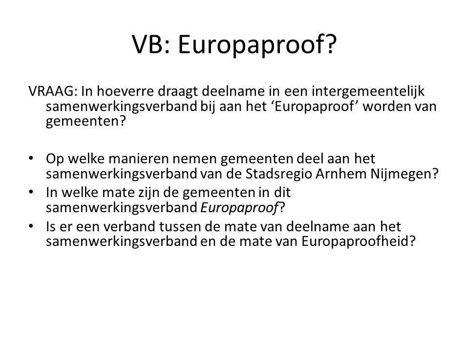 VB: Europaproof.