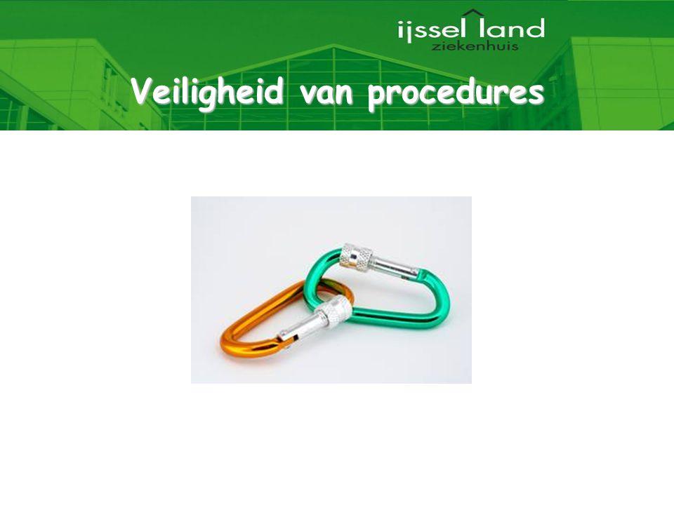 29 Veiligheid van procedures