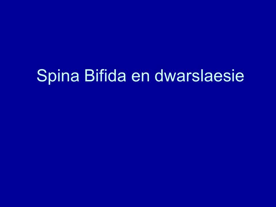 Spina Bifida en dwarslaesie