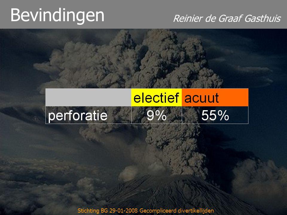 Reinier de Graaf Gasthuis Stichting BG 29-01-2008 Gecompliceerd divertikellijden Bevindingen