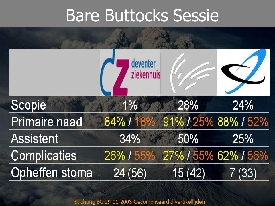 Reinier de Graaf Gasthuis Stichting BG 29-01-2008 Gecompliceerd divertikellijden Bare Buttocks Sessie