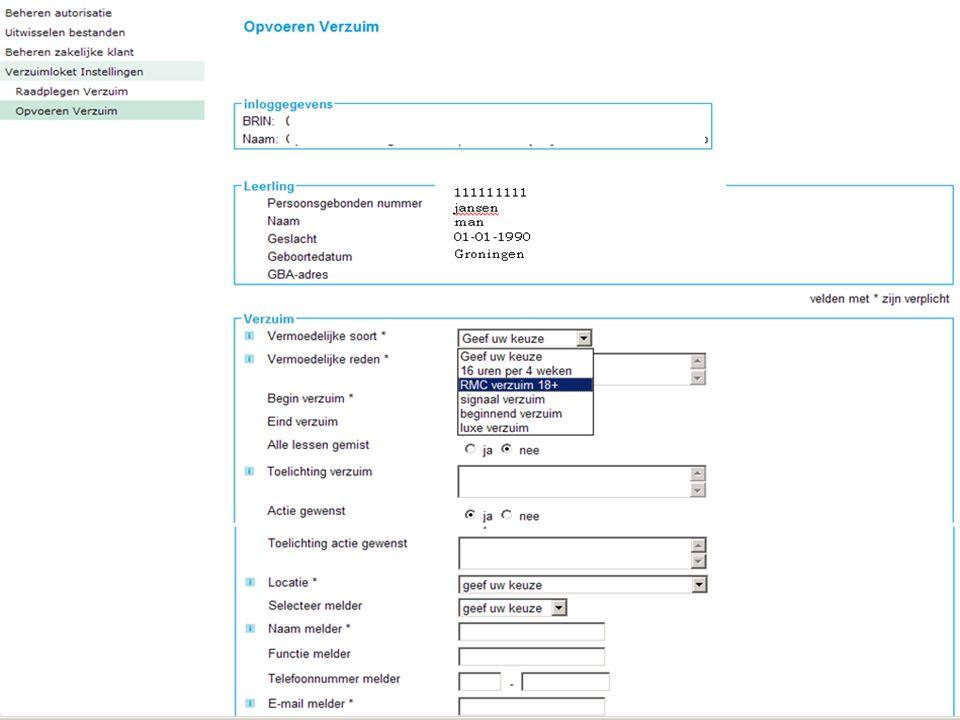 6 Infosessies Verzuimloket Voor de volledige uitleg over het Verzuimloket volgen rond 1 januari 2012 enkele informatiesessies.