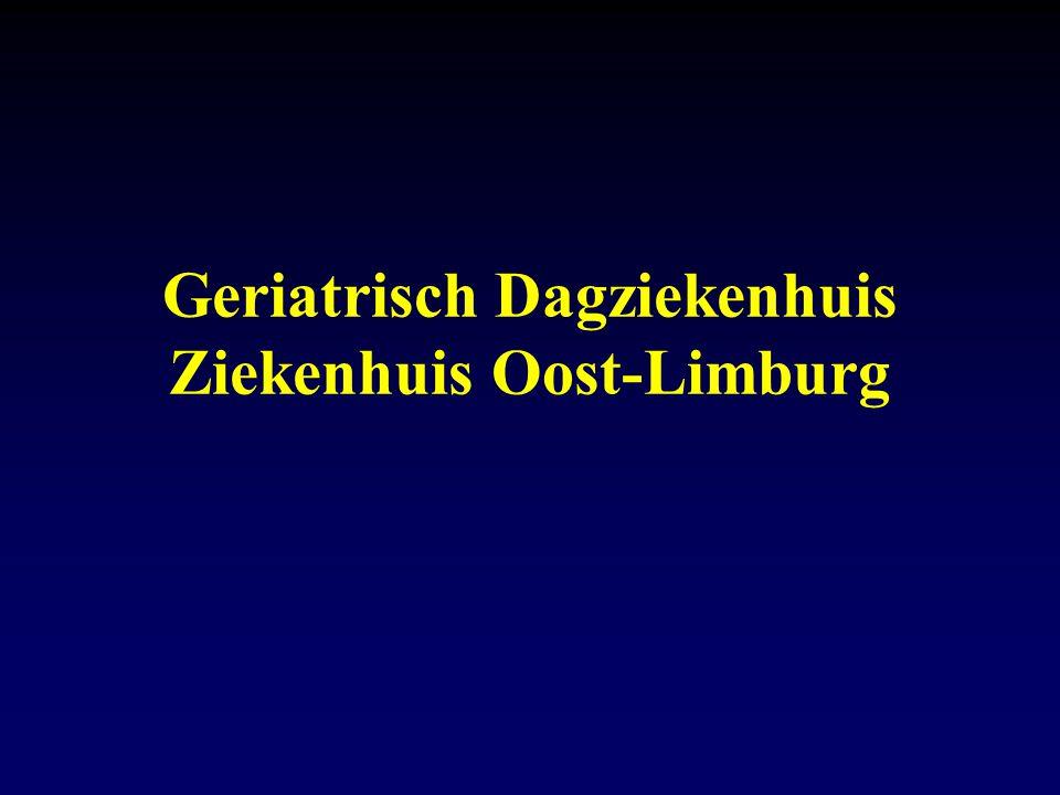 Geriatrisch Dagziekenhuis Ziekenhuis Oost-Limburg