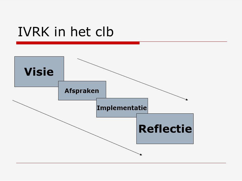 IVRK in het clb Visie Afspraken Implementatie Reflectie