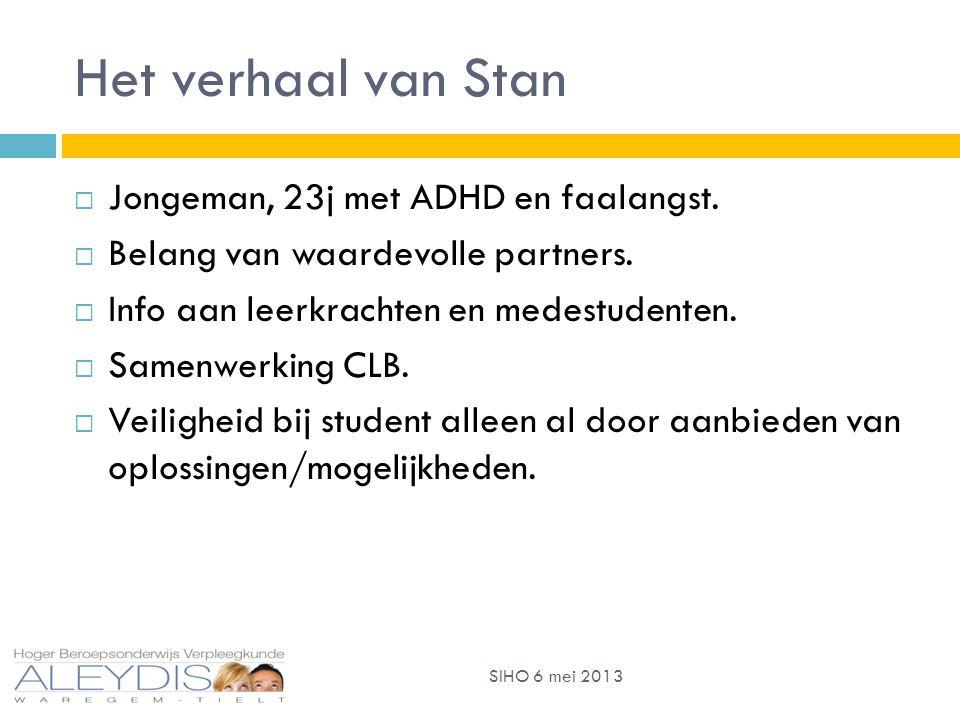 Het verhaal van Stan  Jongeman, 23j met ADHD en faalangst.