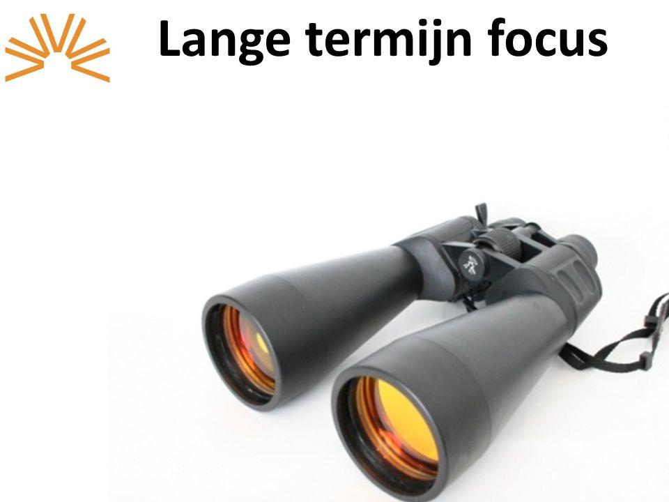 Lange termijn focus