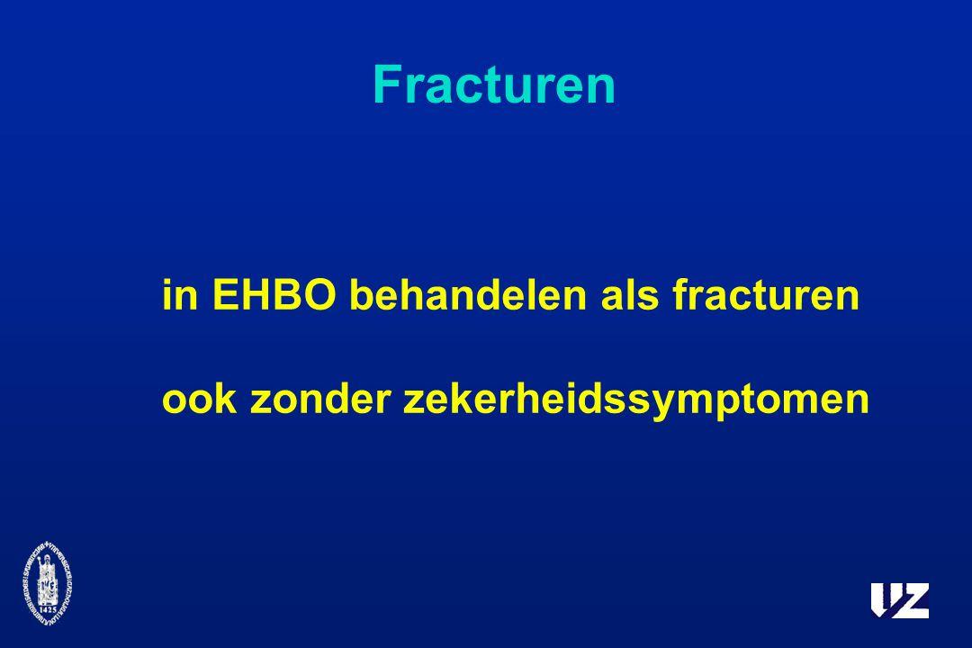Fracturen in EHBO behandelen als fracturen ook zonder zekerheidssymptomen