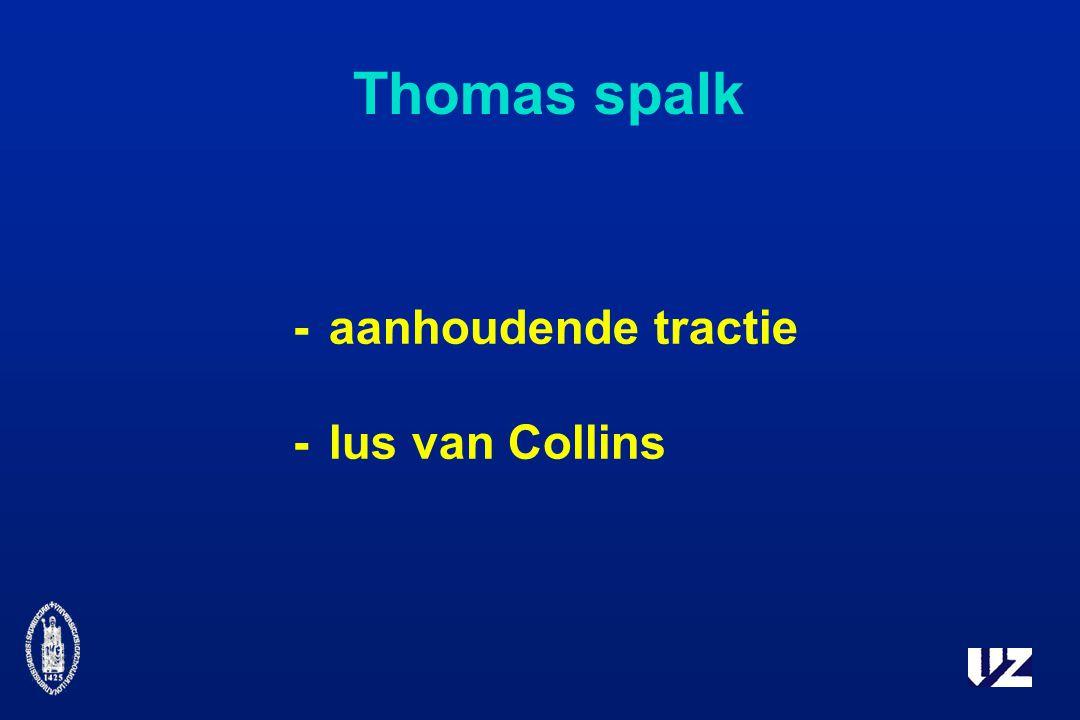 Thomas spalk -aanhoudende tractie -lus van Collins