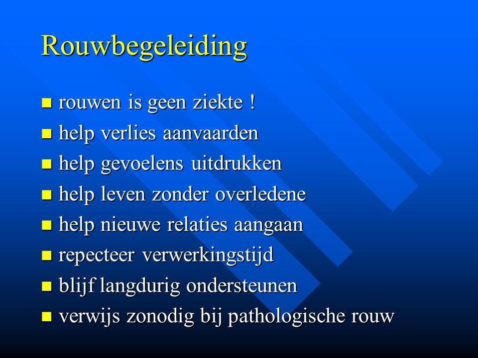 Rouwbegeleiding rouwen is geen ziekte ! rouwen is geen ziekte ! help verlies aanvaarden help verlies aanvaarden help gevoelens uitdrukken help gevoele