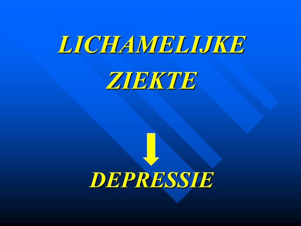 LICHAMELIJKE ZIEKTE DEPRESSIE