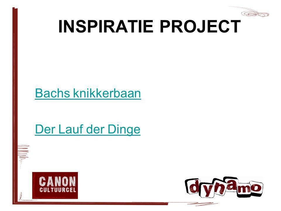 INSPIRATIE PROJECT Bachs knikkerbaan Der Lauf der Dinge