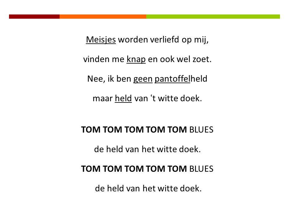 """ Hé, ken je mij ? Ik ben TOM BLUES  Je ziet me vaak xx  In de bekendste films.xxx  In """"Cats"""" speel ik de grootste poes.  Echt, heus en waar : xx"""