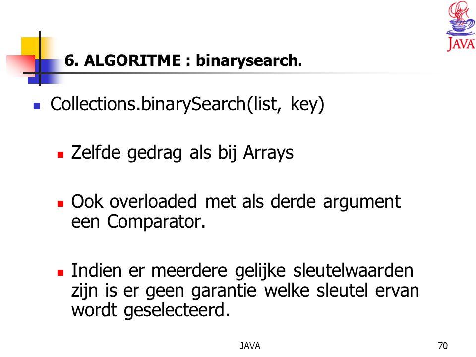 JAVA70 6.ALGORITME : binarysearch.