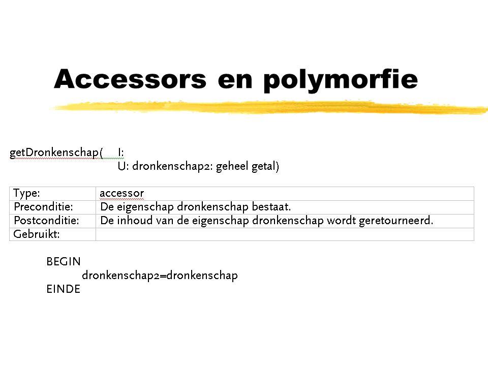 Accessors en polymorfie