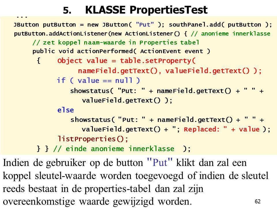 62 5.KLASSE PropertiesTest...