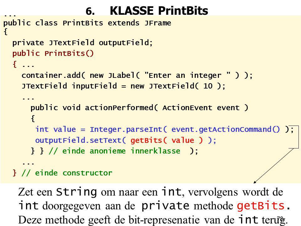 78 6.KLASSE PrintBits...