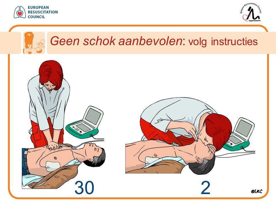 Geen schok aanbevolen: volg instructies 30 2