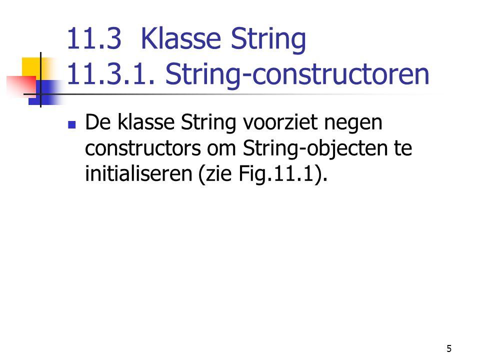 5 11.3 Klasse String 11.3.1.