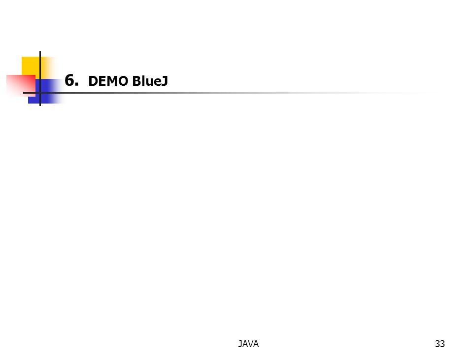 JAVA33 6. DEMO BlueJ