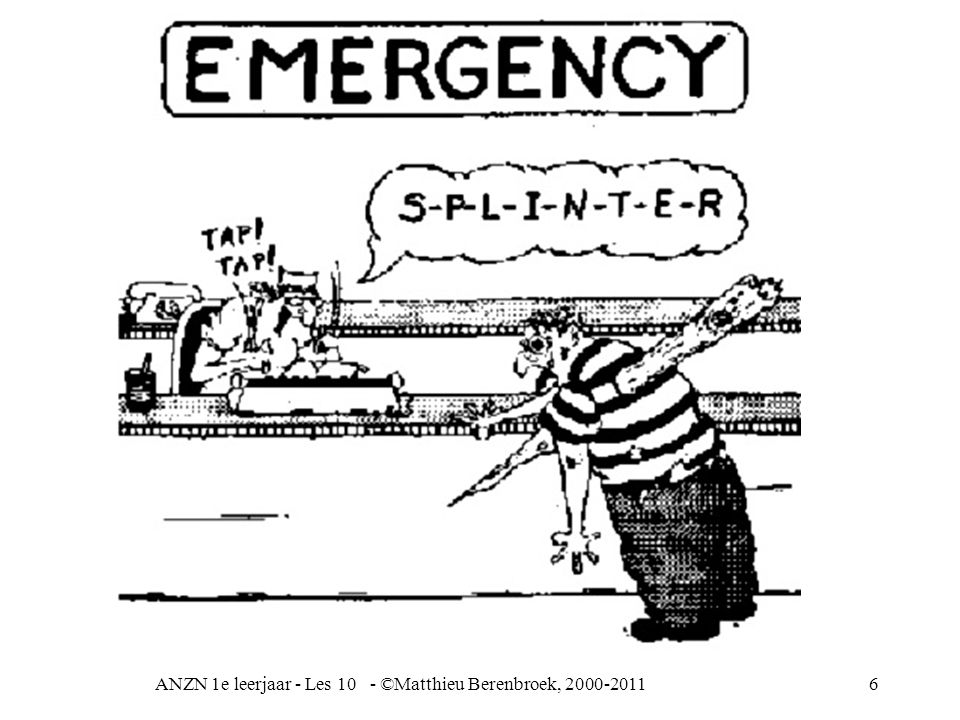 ANZN 1e leerjaar - Les 10 - ©Matthieu Berenbroek, 2000-201117 Oorzaken intrarenale nierinsufficiëntie 1 Acute tubulusnecrose = afsterven van niertubuli –oligurie (verminderde urineproduktie) vaak sterk verminderd of niets –oorzaken: te weinig bloed (shock, bloeding) te weinig vocht dus hoge resorptie uit weinig bloed (uitdroging) vergiftiging als reactie van de nier (allergie) b.v.