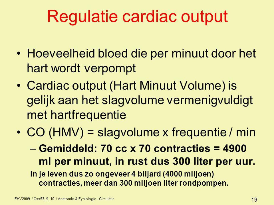 FHV2009 / Cxx53_9_10 / Anatomie & Fysiologie - Circulatie 18 Relaxatie
