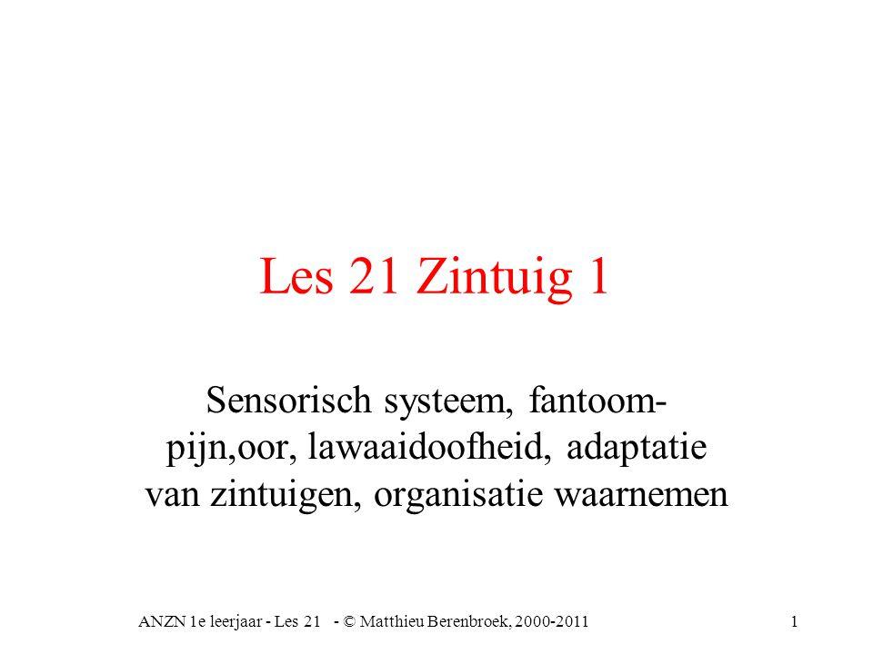 2 Medische interpretatie Input (prikkel) codering zenuwgeleiding decodering zenuwtransmissie interpretatie