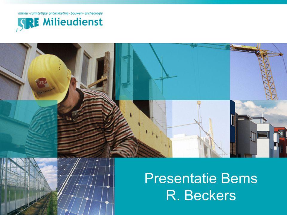 Presentatie Bems R. Beckers