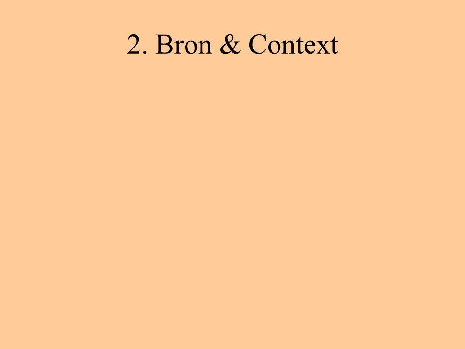 2. Bron & Context